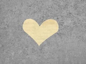 Paper Heart - Yellow
