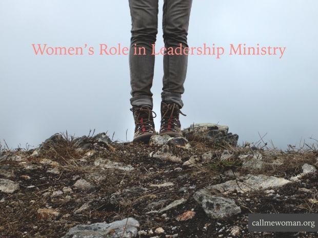 Woman's Role in Leadership Ministry