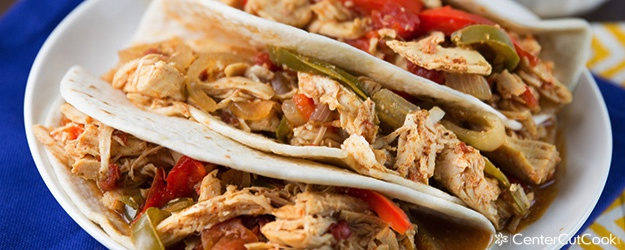 slow-cooker-chicken-fajitas